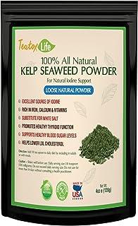 Kelp Sea Moss Powder (Ascophyllum Nodosum)| Thyroid Support Iodine Supplement | Dried Atlantic Seaweed Supplement for Meal...