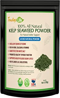 Kelp Sea Moss Powder Seaweed Supplement| Iodine Thyroid Support for Hormone Balance, Weight Loss & Energy | Made in USA