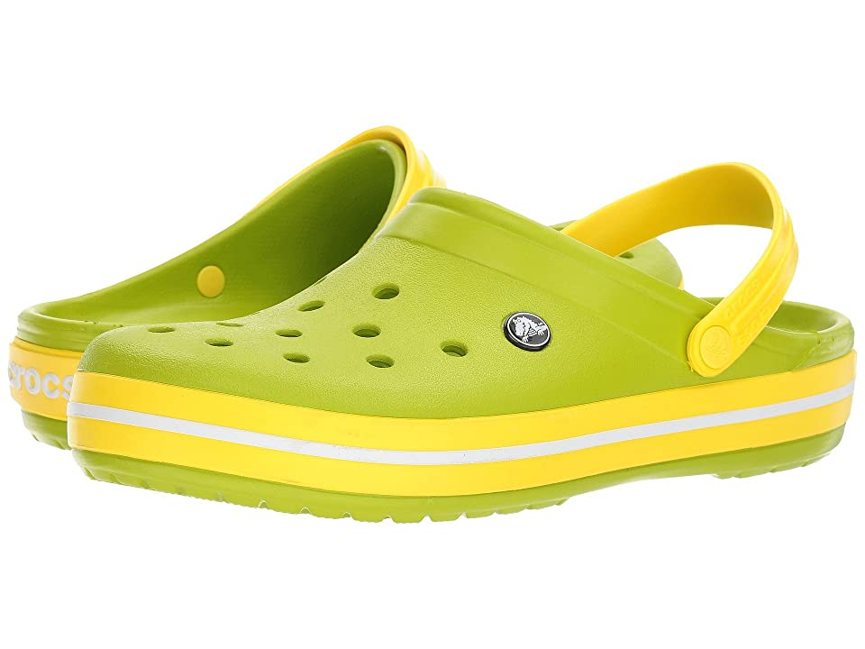 Crocs Crocband Clog (Volt Green/Lemon) Clog Shoes