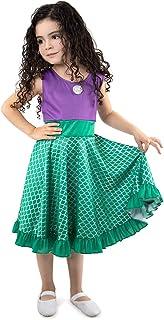 Little Adventures Mermaid Princess Twirl Dress (Small Size 4)