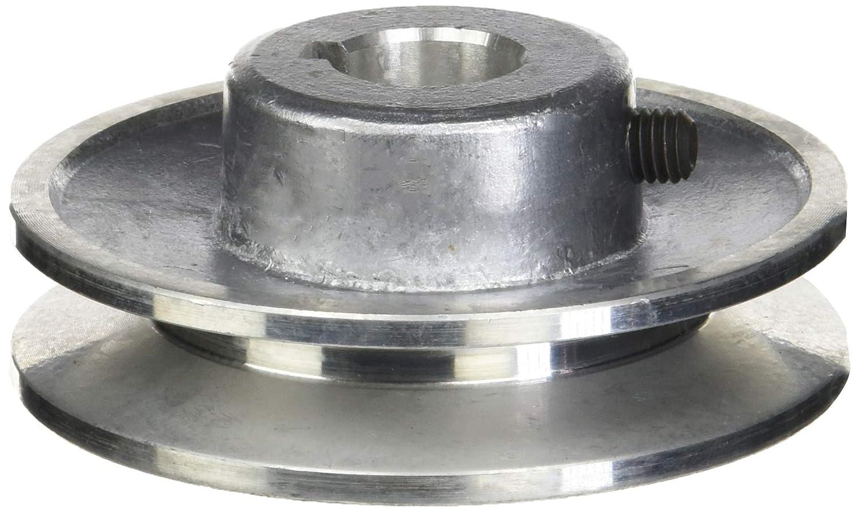 Fartools 117240 - Polea (aluminio, 80 mm, calibre: 19 mm) Negro