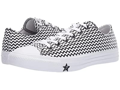 Converse Chuck Taylor All Star Mission-V Ox (White/Converse Black/White) Women