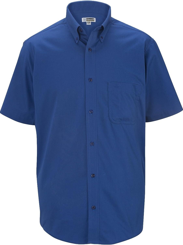 Big and Tall Short Sleeved Twill Shirts LT-6XT Royal