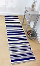 Lord of Rugs - Alfombra de pasillo para salón de HALLWAY HALL en varios colores, azul, 60 x 220 cm (2' x 7'4