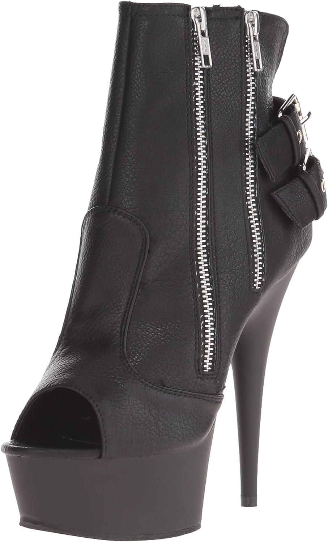 Pleaser Womens Del1015 Bpu M Boot