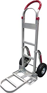 Tyke Supply Aluminum Stair Climber Hand Truck with foldable extension nose Air Tires