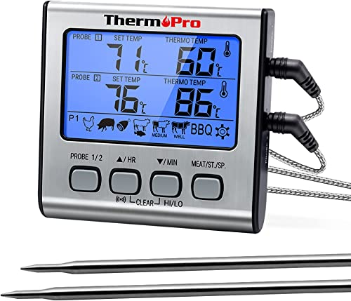 ThermoPro-TP-17-Dual-Probe-Digital-Cooking-Meat-Thermometer