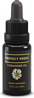 Activation Products, Perfect Press Organic Coriander Oil or Cilantro Oil - Powerful Coriander Seed Supplement - 100% Coriander Seed Oil for Immunity and Digestive Support, 15ml