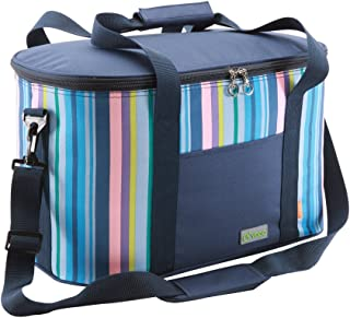 yodo Collapsible Soft Cooler Bag 18L/25L - Insulated up to 4-6 Hours, Roomy for Family Reunion, Party, Beach, Picnics, Sporting Music Events, Everyday Meals to Work