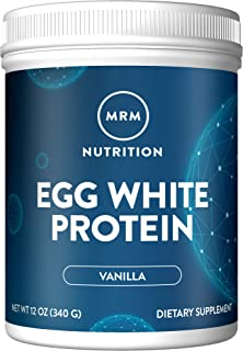 MRM Natural Egg White Protein Powder - Rich Vanilla - 12oz