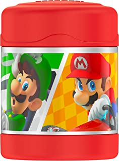Thermos Funtainer 10 Ounce insulated food jar, Mario Kart