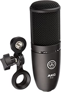 AKG Perception P120 Professional Studio Microphone, Sliver