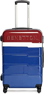 United Colors of Benetton Multi Color Polycarbonate 70 cms Red/White/Blue Hardsided Check-in Luggage (0IP6MP28HL03I)