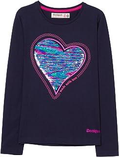 01e4c5c4cfbd2 Desigual TS Sequins T-Shirt Fille