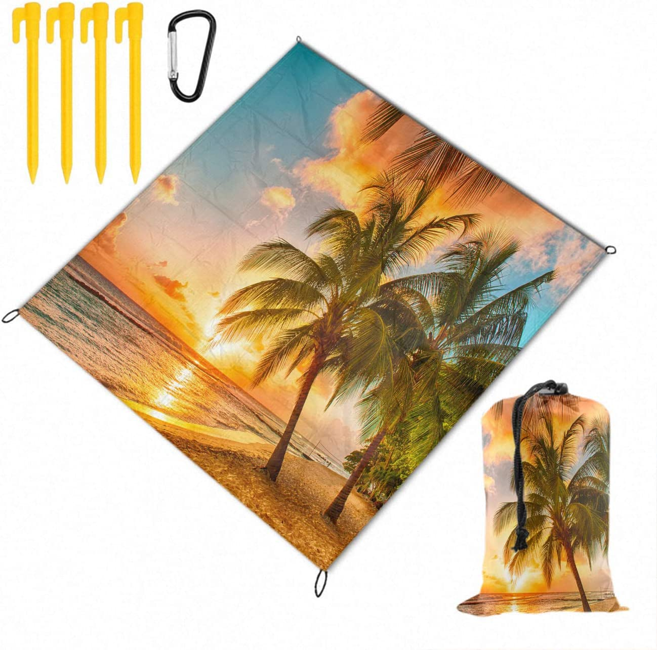 Picnic Blanket Extra Large Mat Sc Waterproof Clearance SALE! Limited time! with special price Backing Nature