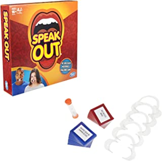 Speak Out Board Game Mouthpiece Game Mouthguard Challenge Game