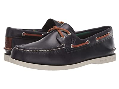 Sperry A/O 2-Eye Plush Varsity (Navy) Men