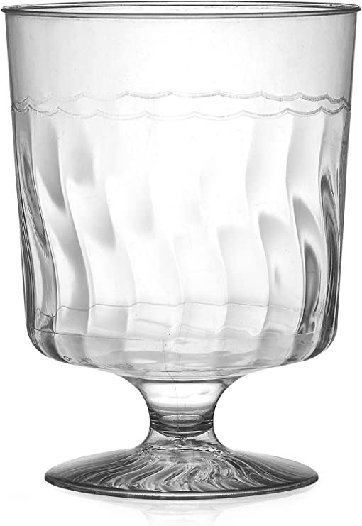 Two Piece Martini Glass 144 Pieces Fineline Settings Flairware Clear 6 oz