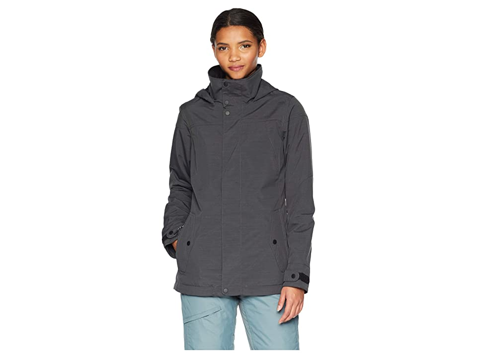 Burton Jet Set Jacket (True Black Heather) Women
