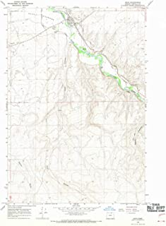 YellowMaps Echo OR topo map, 1:24000 Scale, 7.5 X 7.5 Minute, Historical, 1968, Updated 1970, 26.9 x 22 in