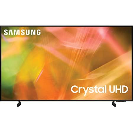 SAMSUNG 50-Inch Class Crystal UHD AU8000 Series - 4K UHD HDR Smart TV with Alexa Built-in (UN50AU8000FXZA, 2021 Model)