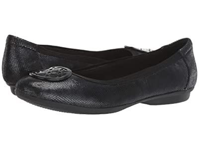 Clarks Gracelin Lola (Black Interest Leather) Women