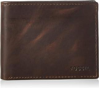 Fossil Derrick Bifold Brown Wallet - MLG0652201