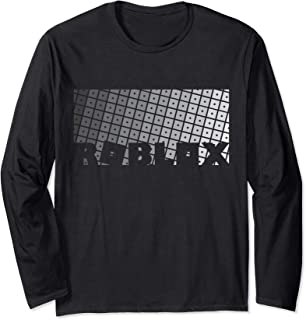 Roblox Logo Grid Long Sleeve T-Shirt