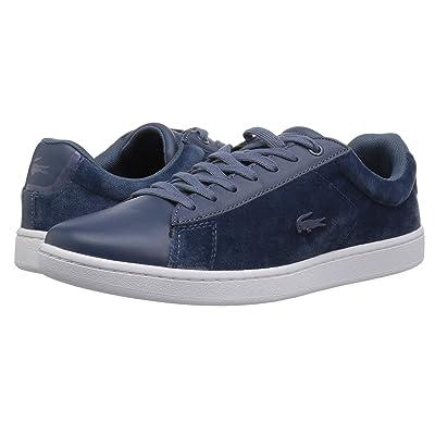 Lacoste Carnaby Evo 318 8 (Dark Blue/White) Women