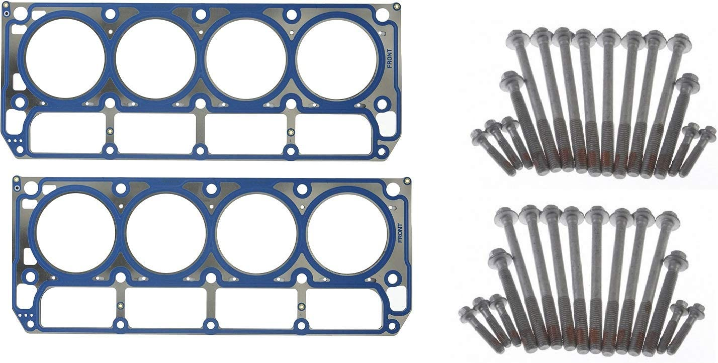 MLS Head Gaskets and Bolts OEM Che Bombing new New arrival work compatible with GMC 2002-2007