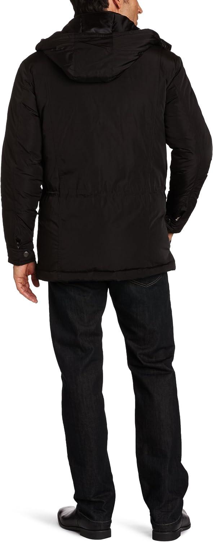 Perry Ellis Men's Size Polyester Parka-Tall