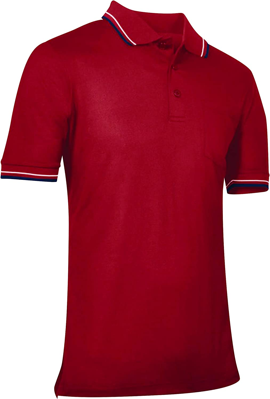 CHAMPRO Japan's Max 43% OFF largest assortment Men's Umpire Shirt Polo