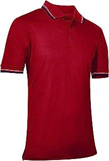 Champro Polo de béisbol y sóftbol, poliéster, Talla M, Color Rojo