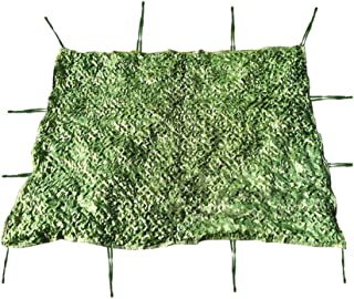 Image of Camo Netting, Camouflage Netting,Woodland Desert Camo Net Blinds for Camping Sun Mesh,Hunting Shooting Sunscreen Nets Camouflage Party Decoration Themed Restaurant Decor Green