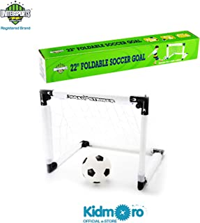 United Sports Foldable Soccer Goal Game Set, 22-inches