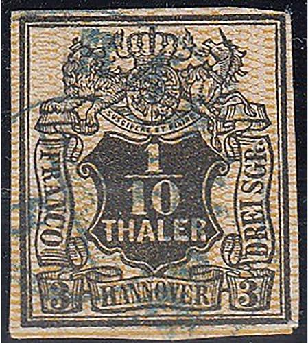 Goldhahn Hannover Nr. 7a gestempelt geprüft Briefmarken für Sammler