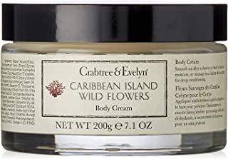 Crabtree & Evelyn Caribbean Island Wild Flowers Body Cream by Crabtree & Evelyn for Women - 7.1 oz Cream, 213 milliliters