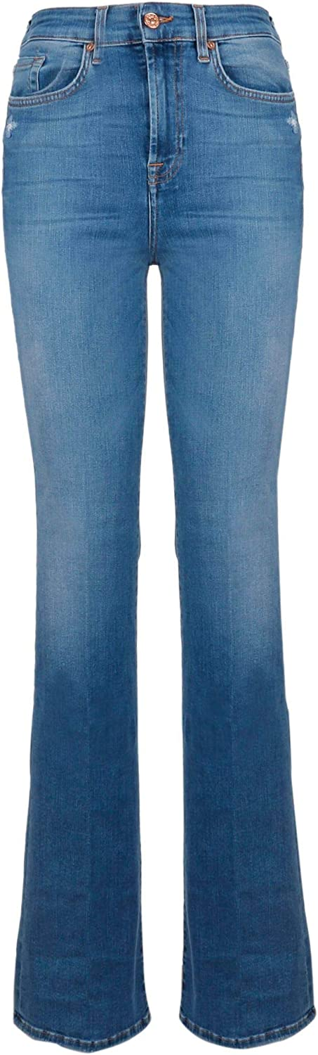 7 For All Mankind Women's JSQNU580 bluee Cotton Jeans