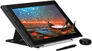 Huion KAMVAS Pro 16 Graphics Drawing Tablet with Full-Laminated Screen Tilt Battery-Free Stylus Touch Bar Adjustable Stand...