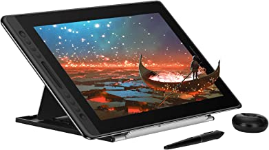 Huion KAMVAS Pro 16 Graphics Drawing Tablet with Full-Laminated Screen Tilt Battery-Free Stylus Touch Bar Adjustable Stand- 15.6 Inches Pen Display