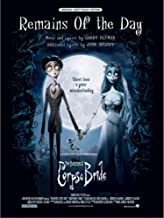 Remains of the Day (From Corpse Bride) (Piano/Vocal/Chords, sheet music)