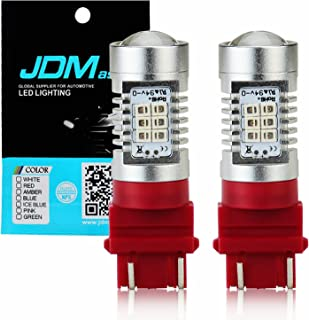 JDM ASTAR 1260 Lumens Extremely Bright PX Chips 3057 3157 4057 4157 Red Brake LED Bulb