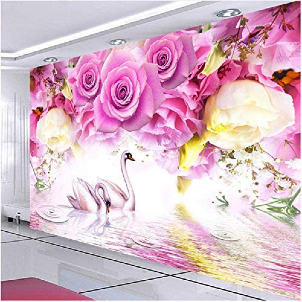 Clhhsy Waterproof and Removable Photo Max 68% Bombing new work OFF Purple Modern Ro Wallpaper