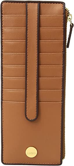 Lodis Accessories - Rodeo RFID Credit Card Case with Zipper Pocket
