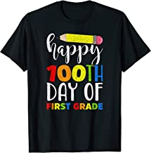 Happy 100th Day of First Grade Shirt for Teacher or Child