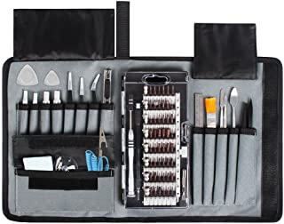 Syntus 80 in 1 Precision Screwdriver Set with Magnetic Screwdriver Kit, Essential Electronics Repair Tool Kit with Portabl...