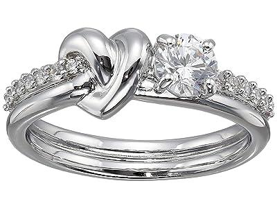 Swarovski Lifelong Heart Ring (CZ White) Ring