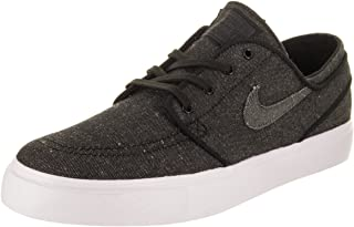 Nike SB Zoom Stefan Janoski Canvas Deconstructed Men's Skate Shoes Black/Anthracite/White (11.5)