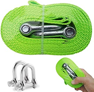 HYLONG Tow Rope,Towing Belt Tow up to 5 Ton, 3.8 Meters Long,