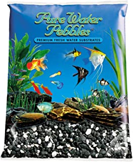 Pure Water Pebbles Aquarium Gravel, 25-Pound, Salt and Pepper